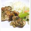 夕食_鶏肉の磯辺から揚げ