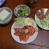 幸運な病のレシピ( 605 )昼:煮しめ、鳥手羽揚げ、鶏ムネ揚げ、ズンダ(枝豆)揚げ