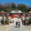 縁結び七色の鳥居のある織姫神社へ 〜初詣(2019年)〜