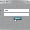 JavaFX Mavenサンプル