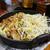 ボリューム満点!十本松ドライブイン名物のホルモン定食@鹿児島県薩摩川内市