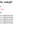 軽量でパワフルなデータバインディングMVVM, vue.jsで遊んでみた