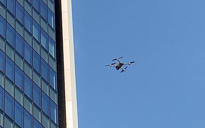 ドローンでビルを撮影すると景色が一変。ソフトバンク竹芝 新本社ビルをドローンで空撮してきました