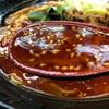相模大野・がんや【がん担麺(辛さその先)】雨の日限定がんやの坦々麺‼️かなりの辛さじゃねぇか…