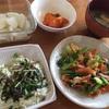 とりあえず小松菜とブロッコリーがあれば安心。