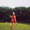 ガンイェビン、ゴルフ場で誇ったセクシー美...「よく打つことができれば?」
