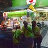 201702タイ旅行記その3:緑とピンクのカオマンガイ屋さん