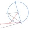 第3巻命題16 円の直径の垂線