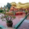 ビエンチャンで最も有名な観光地の隣のお寺 - タートルアン南寺(ວັດທາດຫຼວງໃຕ້) - (ビエンチャン・ラオス)