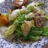 幸運な病のレシピ( 1253 )昼 :新玉ねぎとキャベツの炒め