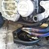 #バイク屋の日常 #カワサキ #ゼファー1100 #エンジンオイル交換 #オイルフィルター交換 #ELF