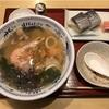 弁慶の海鮮ラーメン+鯖の棒寿司セット