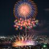自宅から淀川花火大会を撮る