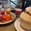 【3連休弾丸初バンコク旅行12】フルーツたっぷり~ザ アテネ ホテルの朝食。リスにも遭遇!