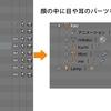 【Blender】オブジェクトの親子関係と回転アニメーション(NyaDがくるくるまわるよ~)