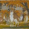 氷河期の時代の鹿は大きかった。
