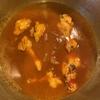 【ホットクック】鶏手羽元の無水カレー作りました