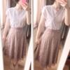 春スカートは秋にも着れる?