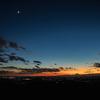 【天体撮影記 第39夜】 茨城県 筑波山 子授け地蔵駐車場より関東平野の夜景と星景