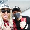 【小ネタ】DJKOOさんのインスタとツイッターに西川貴教登場…! しかし、被っている帽子が気になる…