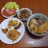 幸運な病のレシピ( 1270 )昼:血糖値の上がらない蕎麦、新タマネギかき揚げ、