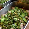 蒸し鶏のサラダ仕立て香味野菜ダレ添え
