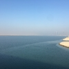 Al Hudayriat島で、サイクリングを