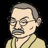 【商用フリー似顔絵イラスト】伊藤左千夫