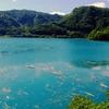 御岳湖(長野県木曽)