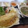 新小岩【ミツコレストラン(MITSUKOレストラン)】ベトナム風のお好み焼きセット ¥980