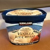 濃厚でコクがあるがさっぱりと味の残らない コストコのカークランド スーパープレミアム バニラアイスクリーム