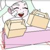 描きかけ(メロン茶)