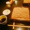 表参道の蕎麦屋、青山川上庵へ