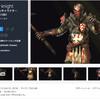 【無料化アセット】中世ファンタジースタイルのヘビーナイトモデル。接近しても綺麗に見える高品質な3Dモデル& アニメーション14種類「Heavy knight」
