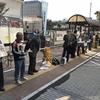3日、全国一斉憲法守る統一行動日。福島市駅前でも32人がアピールと署名行動