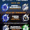7月28日開催親善試合 フロリダカップ2021 UNAM vs Everton FC