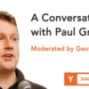 Paul Graham との対話 (Startup School 2018 #04,  Paul Graham - Moderated by Geoff Ralston)