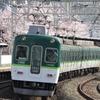 京阪本線の朝ラッシュ時、滝井駅にて①鉄道風景264...20210401