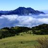 愛媛県西条市 氷見二千石原から望む石鎚山