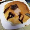 ママとお姉ちゃんのホットケーキ pancake