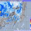 台風20号から数百km離れた関東地方で『線状降水帯』と見られる活発な雨雲が!1時間に30mm前後の降水量を観測!!