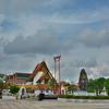 「ジャイアントスイング」超巨大ブランコと「ワット スタット(Wat Suthat)」のみごとな礼拝堂、仏像群!!