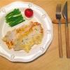 卵をケチった「バジルチーズ風味のポークピカタ」のレシピ