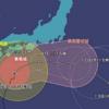台風14号迷走