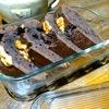 残り物で焼いたココアケーキ