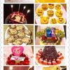 今年作ったケーキたち2017