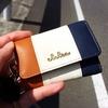 【カードも入れられる便利な機能性】トリコロールカラーのキーケース「Clelia-クレリア-」が女性らしいデザインで超おすすめ