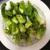 福岡の春を告げる野菜「つぼみ菜」・つぼみ菜味噌、ペペロン炒め