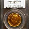 イギリス1911年ジョージ5世2ポンド金貨PCGS PR65CAM
