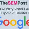 Googleの検索品質評価ガイドラインが大幅更新